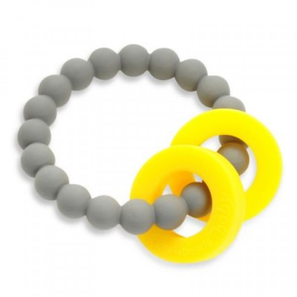 Mulberry Teether - Grey