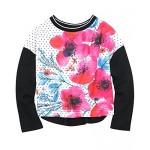 C'est Le Bouquet Polka Dot Sweat Shirt