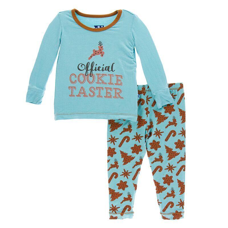 ca4734d742dd Kickee Pants Holiday Print Long Sleeve Pajama Set in Christmas ...