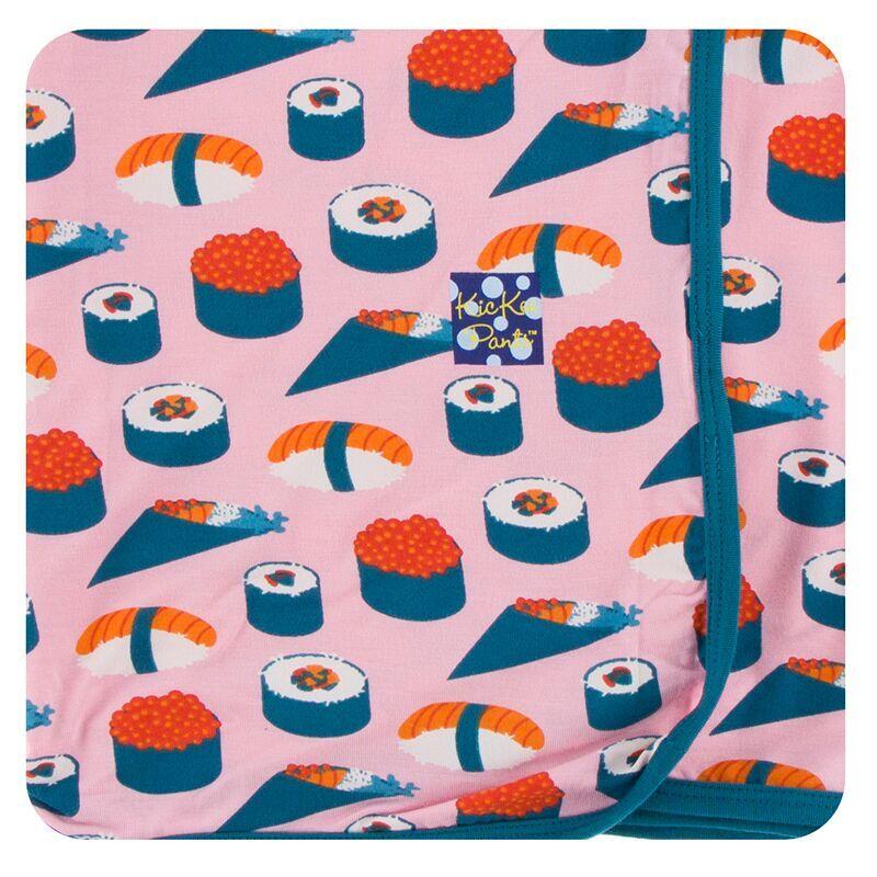 d68f421944 Kickee Pants Print Long Sleeve Pajama Set in Lotus Sushi