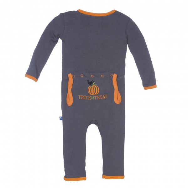 Holiday Applique Coverall Stone Trick or Treat