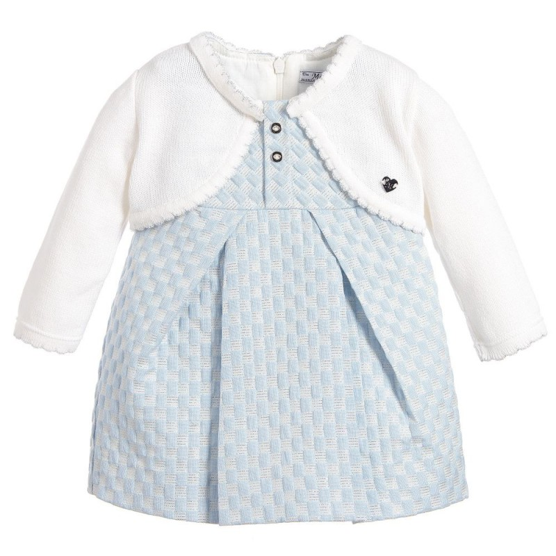 Mayoral Baby Girls Long Sleeve Textured Knit Dress