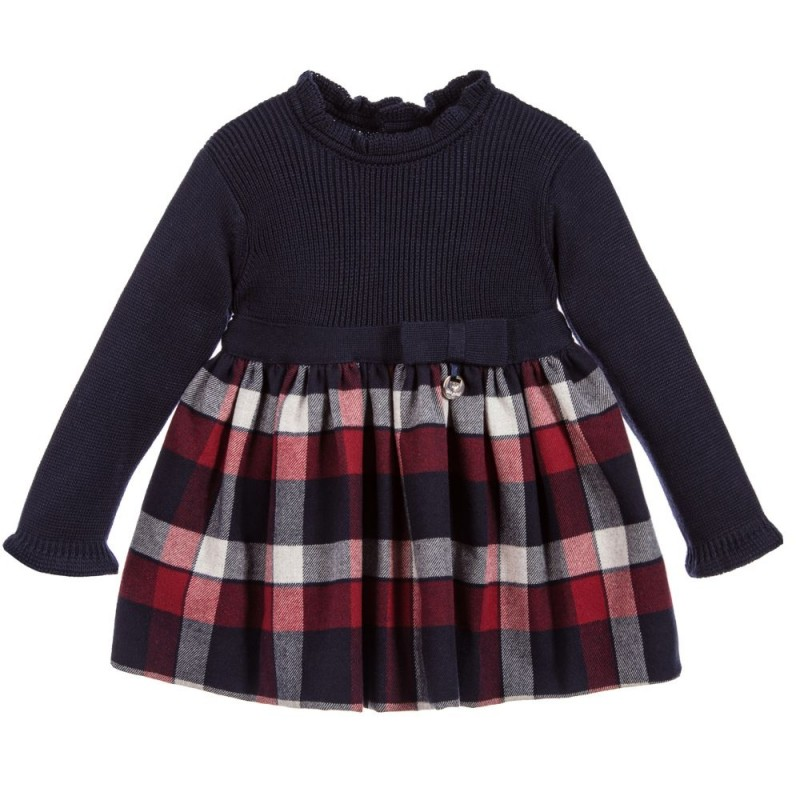 228d8bab1bad Mayoral Baby Girl Long Sleeve Knit Dress