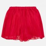 Girls Red Pleated Skort