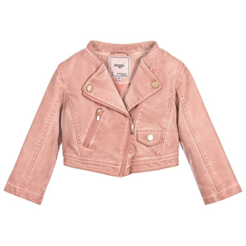 30d86c7d9 Girl Jacket with Zipper Fastening   Yogaso Boutique