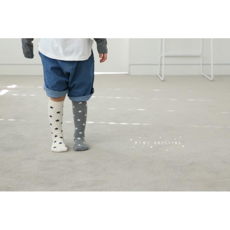 197b2e69509 Mini Dressing Star Knee Socks - Ivory