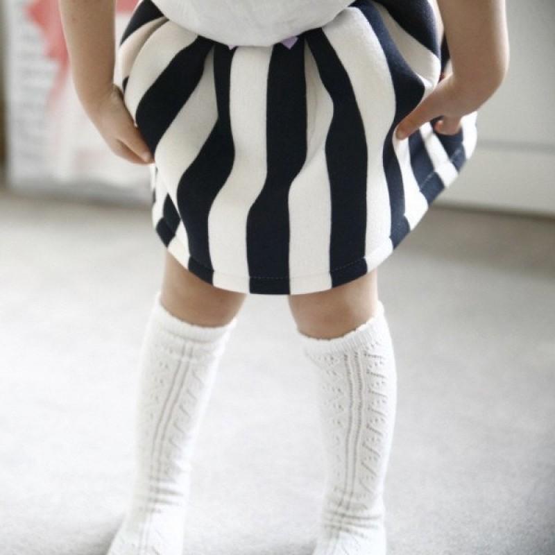 dfebc9860b5 Mini Dressing Lace Knee-High Socks - Ivory