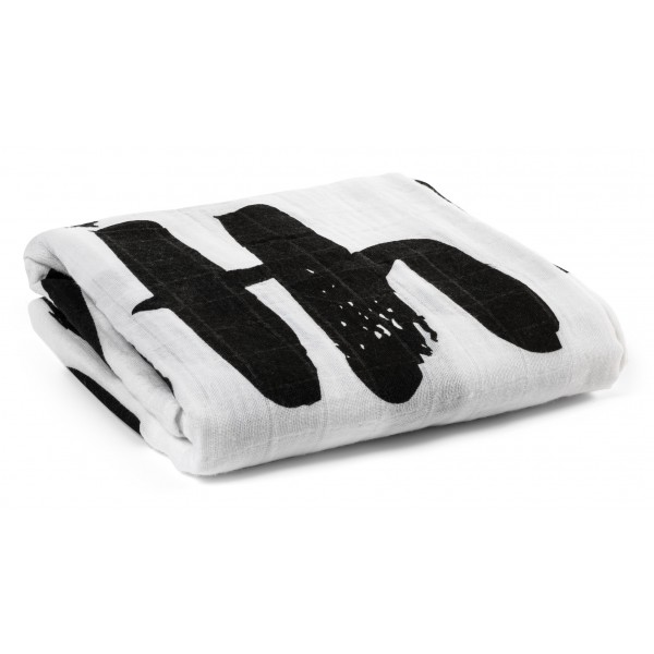 Organic Cotton Muslin Swaddle Blanket - Be the Change