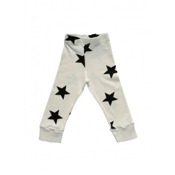 Star Leggings - White