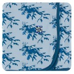 Print Footie with Zipper in Pond Leafy Sea Dragon