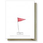 Birthday Flag Card