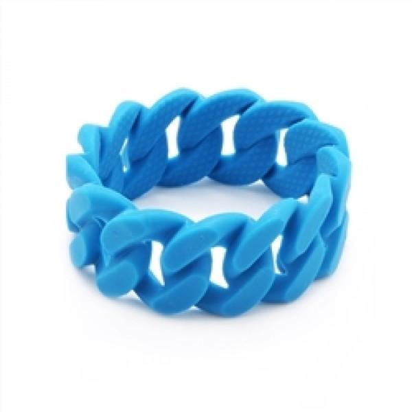 Chewbeads Stanton Teething Bracelet - Deep Sea Blue