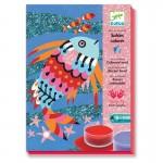 DJECO COLORED SAND ART KIT (FISH RAINBOWS)