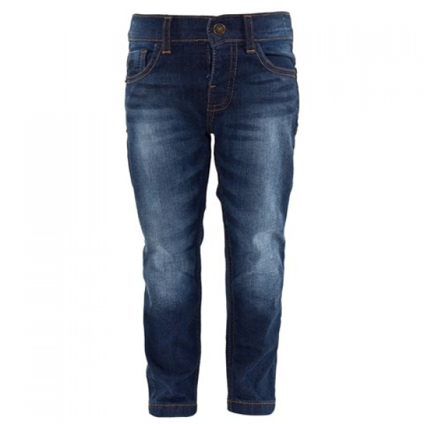 BLUE DARK WASH JEANS
