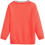 Coral Red Knitted Sweater