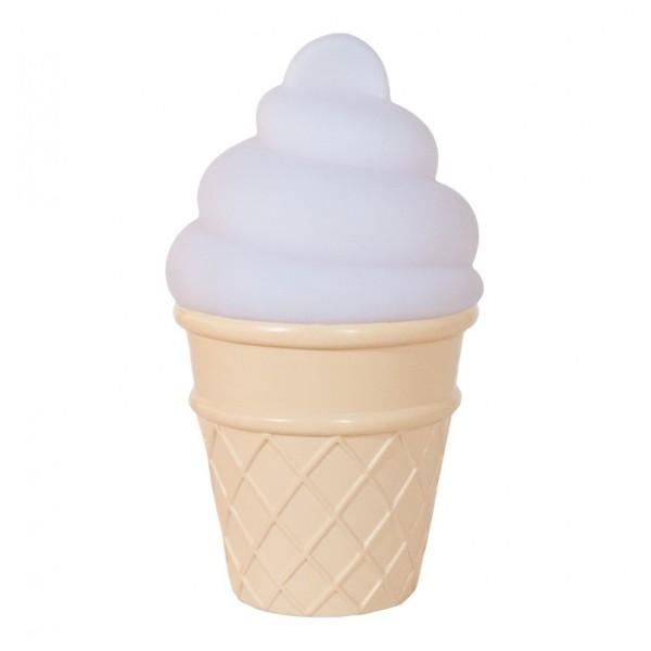 Mini Ice Cream Light (White)