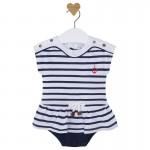 Baby Girl Sailor Romper
