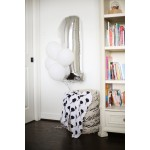 Organic Cotton Muslin Swaddle Blanket - Balloons