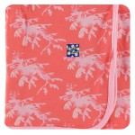 Print Coverall with Zipper in English Rose Leafy Sea Dragon